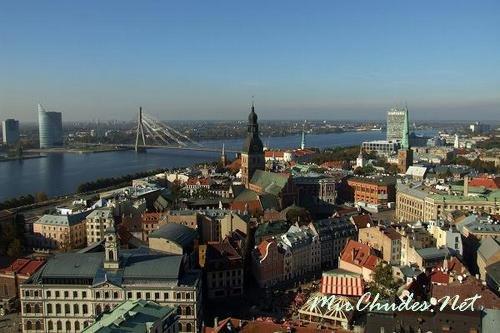 Рига — главная достопримечательность Латвии.