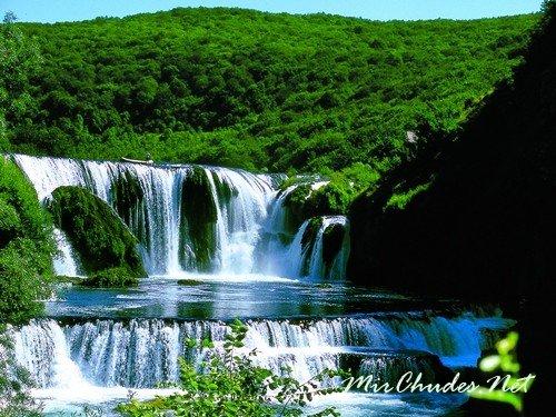 Чудесная природа Боснии и Герцеговины (Река Strbacki Buk).