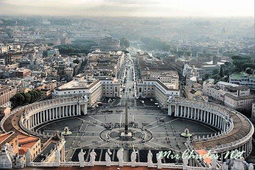 Ватикан — самое маленькое государство в мире
