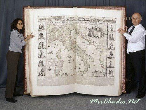 Атлас Кленке — самая большая книга в Мире