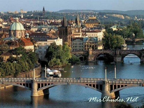 Прага — европейская красавица.
