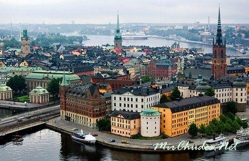 Швеция — страна, где солнце и атмосфера радости царят везде.