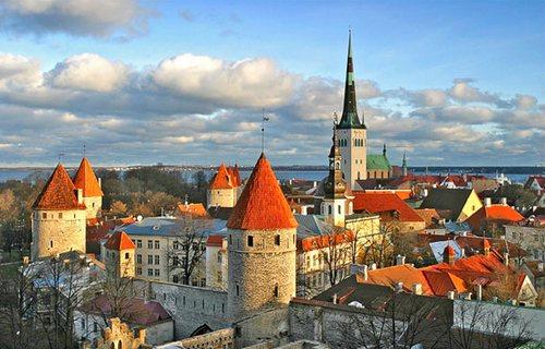 Таллин — жемчужина средневековой Европы.