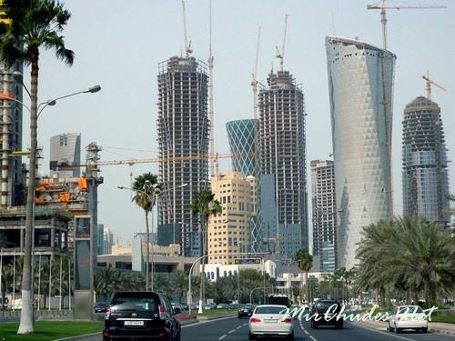 Доха — красивая столица Катара.