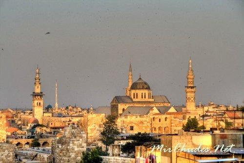 Дамаск — столица Сирии и один из самых древних городов Мира.