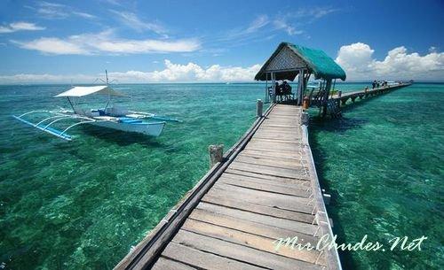 Красивое море Филиппин.