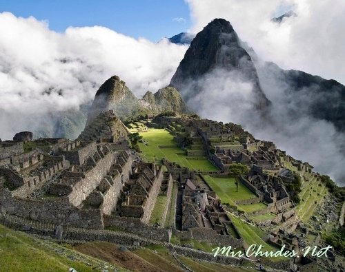 Мачу-Пикчу — древний и таинственный город Инков.