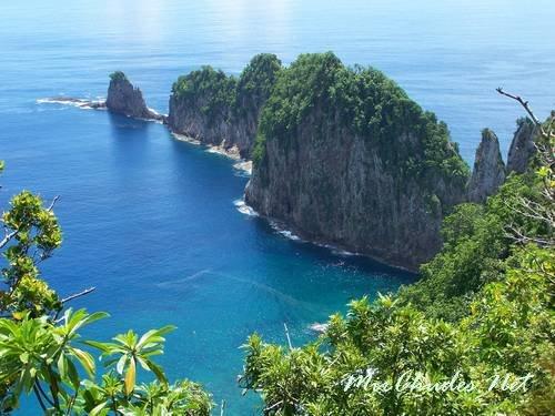Национальный парк в Американском Самоа.