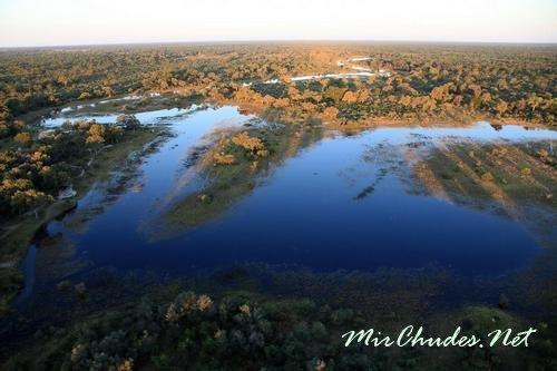 Дельта реки Окаванго и Национальный парк Чобе.