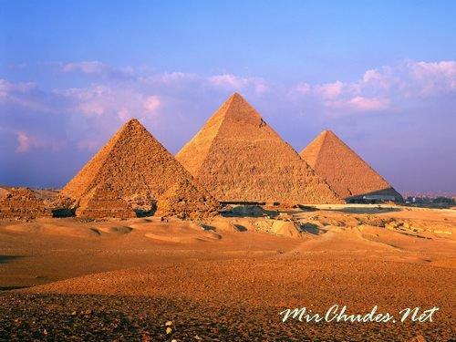 Пирамиды — самая известная достопримечательность Египта.