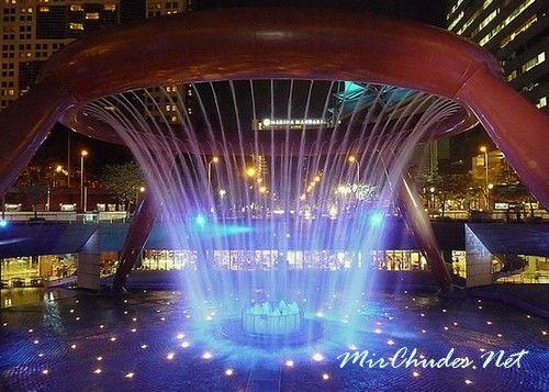 Фонтан Богатства — самый большой фонтан в мире