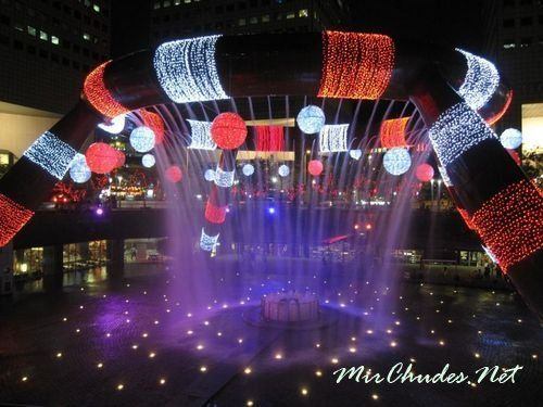 Сингапурский Фонтан Богатства