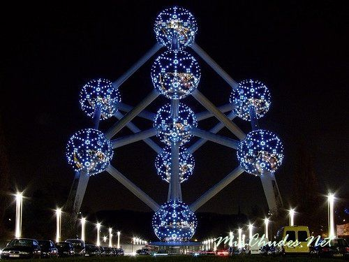 Атомиум — достопримечательность Бельгии