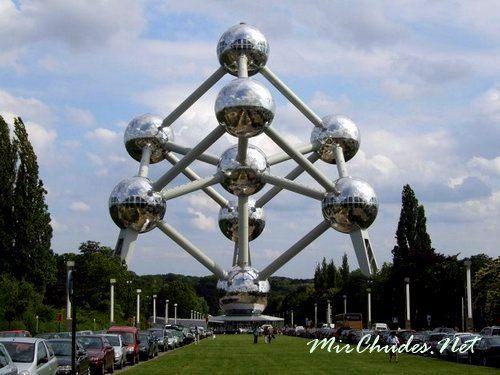 Атомиум — символ Брюсселя