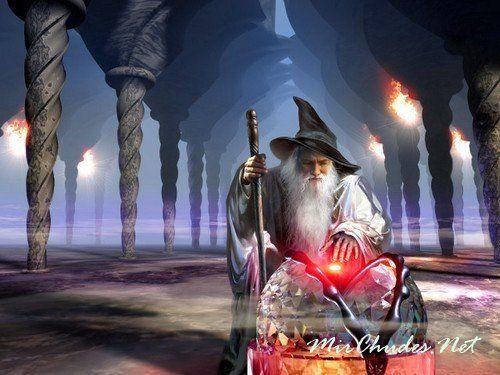 Гномы — искусные маги и волшебноки, живущие в Подземном Городе.