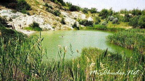 Замечательное озеро села Стайки.
