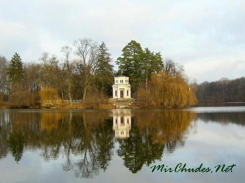 Остров Любви с Розовым павильоном.