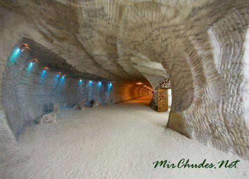 Соляные пещеры Солотвино.