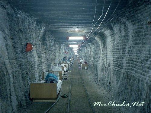 Солотвинские шахты — единственные в Украине и СНГ, в которых возможно лечения в подземных условиях.