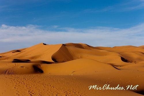 Ежегодно Сахаре наблюдается до 160 тысяч миражей.