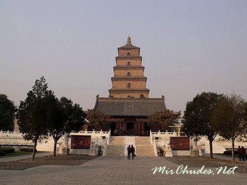 Большая пагода Диких гусей — одна из самых древних пагод Китая.