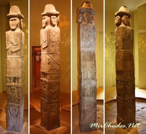 Збручский идол — уникальный памятник древнеславянского язычества.