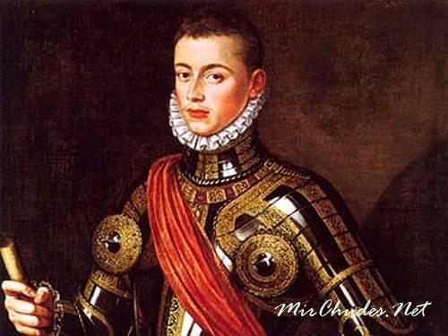 Баварский дон Жуан был внебрачным сыном императора Священной Римской империи Карла V.