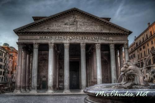 Пантеон — храм всех богов.