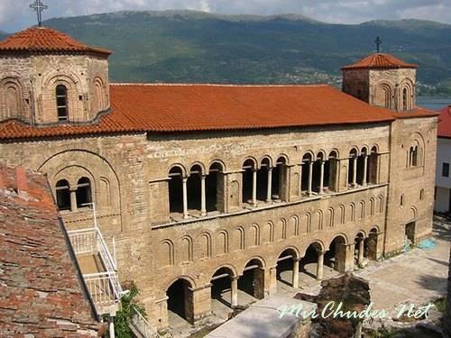 Храма св. Софии в Охриде (Македония, 1028 г.).