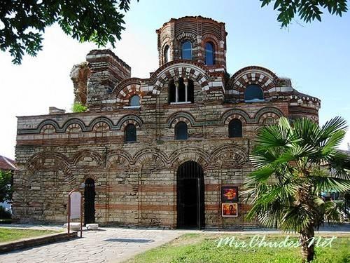 Церковь Христа Пантократора (Вседержителя) в Несебре (Болгария, 1331-1371 гг.).