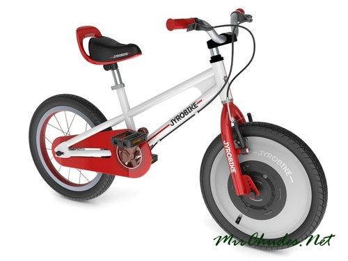 Jyrobike — первый в мире автобалансирующий велосипед.