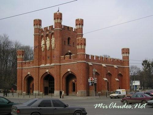 Короле́вские воро́та (нем. Königstor) — одни из семи сохранившихся городских ворот Калининграда.