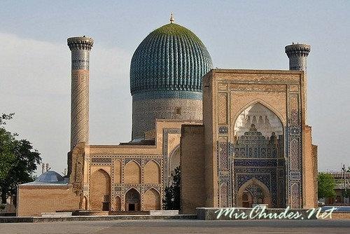 Гур-Эмир — мавзолей Тамерлана (Узбекистан, г. Самарканд, 1403-1404 гг.).