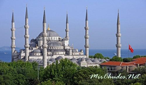 Султанахмет или Голубая мечеть (Турция, г. Стамбул, 1609-1616 гг.).