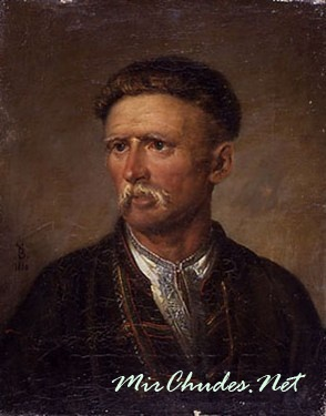 Портрет Устима Кармелюка (художник Василий Тропинин).