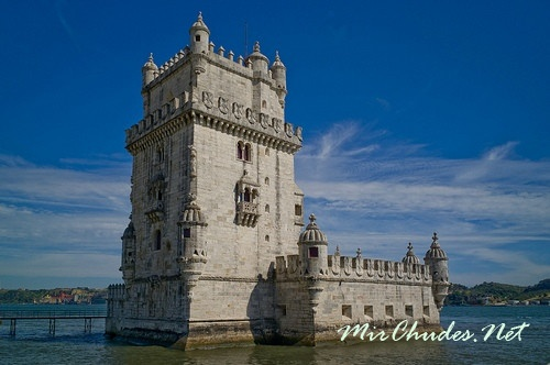 Башня Белем (Португалия, г. Лиссабон, 1502-1580 гг.).