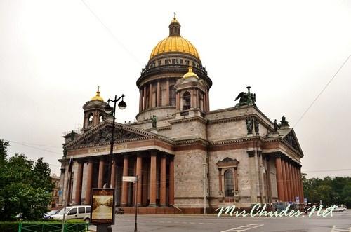 Исаакиевский собор (Россия, г. Санкт-Петербург, 1818-1858 гг.).