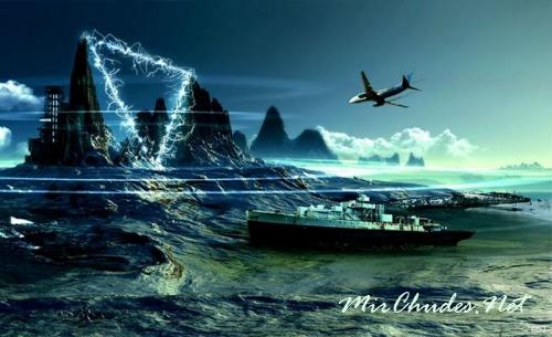 Бермудский треугольник считается самой загадочной аномальной зоной нашей планеты.