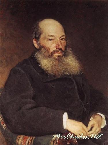 Фет Афанасий Афанасьевич (картина Репина).