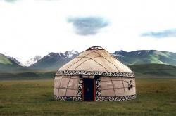 Юрта - войлочный дом кочевников