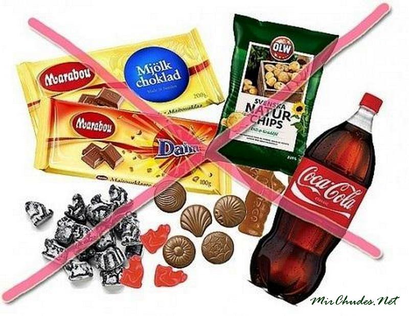 Картинки по запросу вредная еда