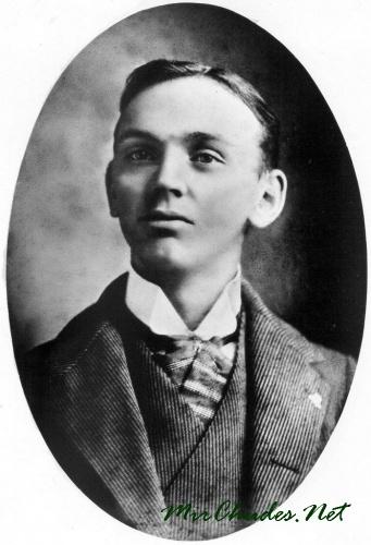 Эдгар Кейси в молодости.