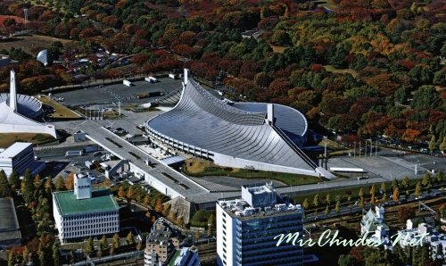 Олимпийский спорткомплекс Ёёги в Токио.