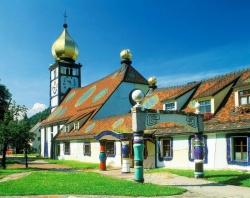 Церковь Святой Варвары в Бернбахе (Австрия).