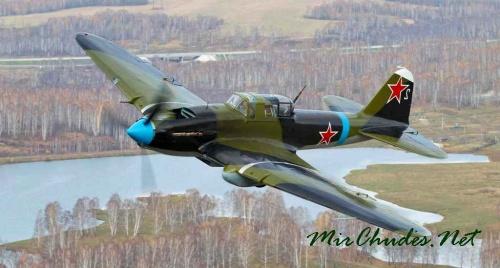 Штурмовики Ил-2 немцы называли «черной смертью».
