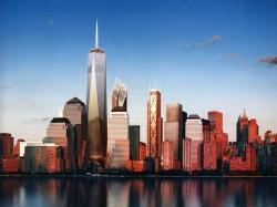 Генплан комплекса Всемирного торгового центра в Манхэттене