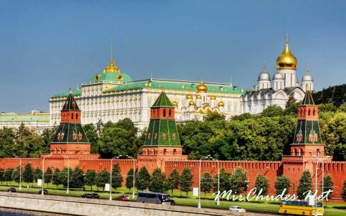 Московский Кремль со стороны Москвы-реки