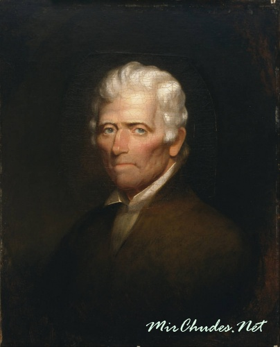 Единственный прижизненный портрет Даниэля Буна, написанный за несколько месяцев до смерти