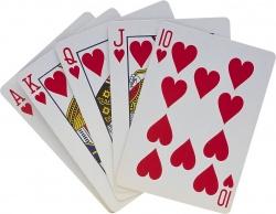 К концу XV века в Европе сформировалась так называемая французская колода, которая сейчас считается классической: 54 карты при двух джокерах и четырех мастях.